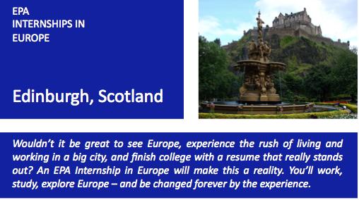 Edinburgh Blue w Text