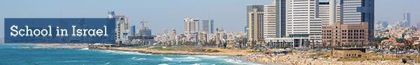 Banner for Israel