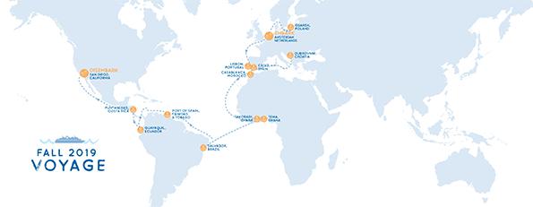 Voyage Fall 2019 Map