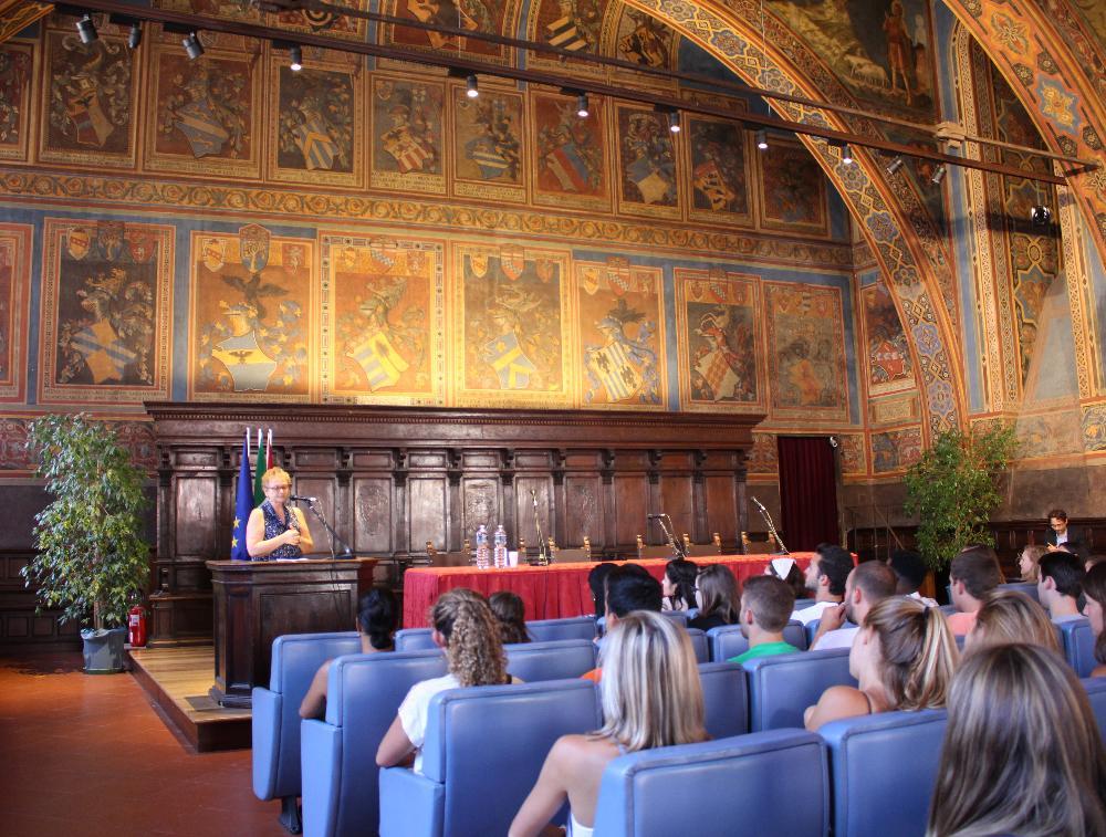 Orientation in Perugia