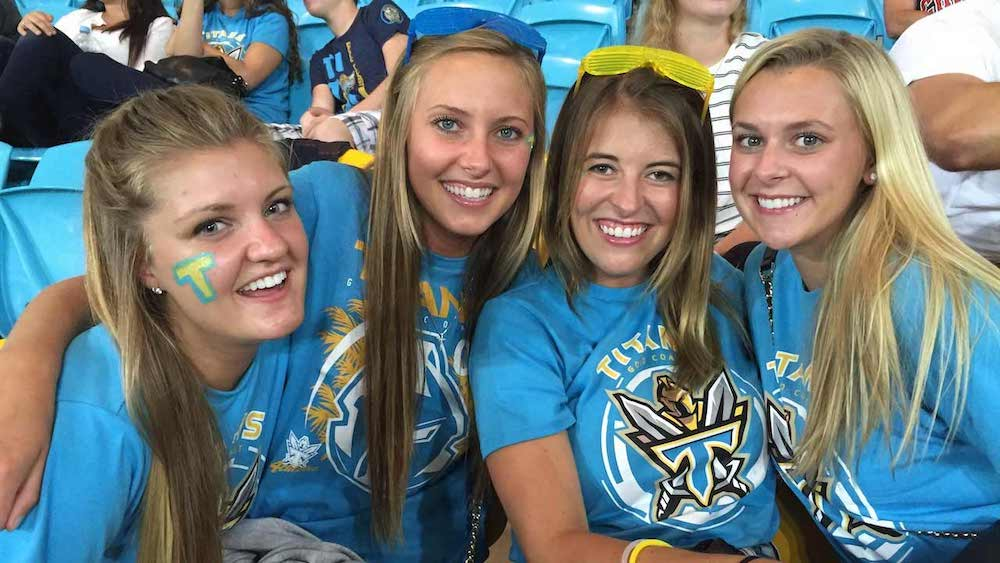Gold Coast Titans Rugby Match