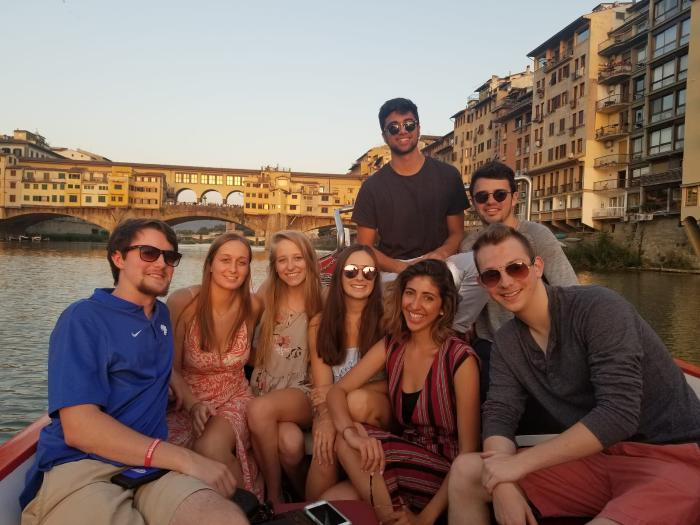 Florence boat ride