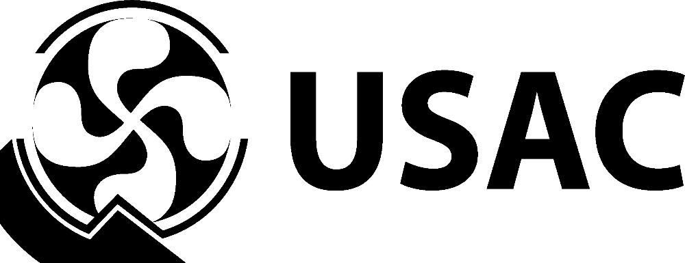 USAC Logo Black