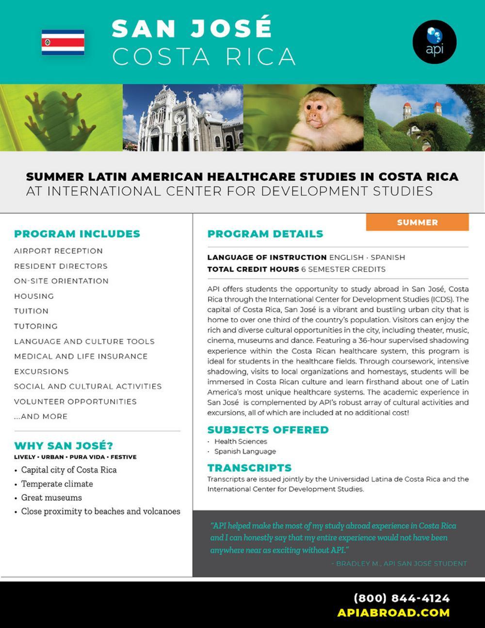 Summer Latin American Health C