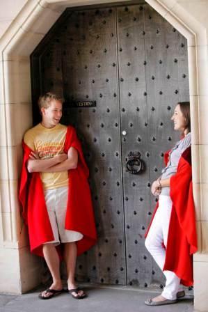 Scotland - St Andrews cloaks a
