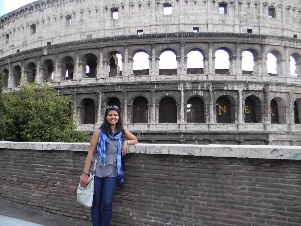 Student at Colosseum