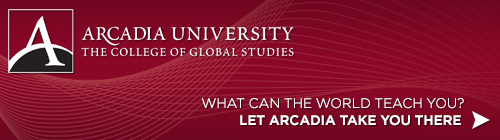 Study Abroad at Arcadia header