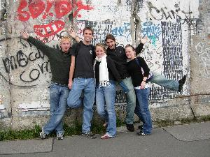 Berlin Wall Students