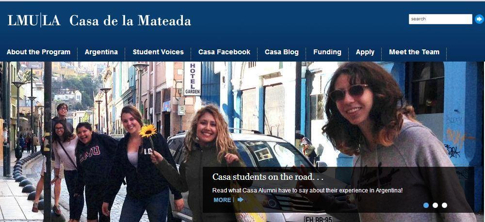 Casa Website 1